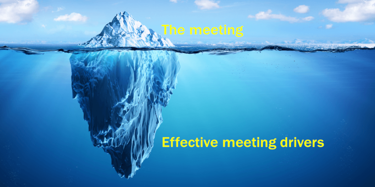 Effective meeting drivers